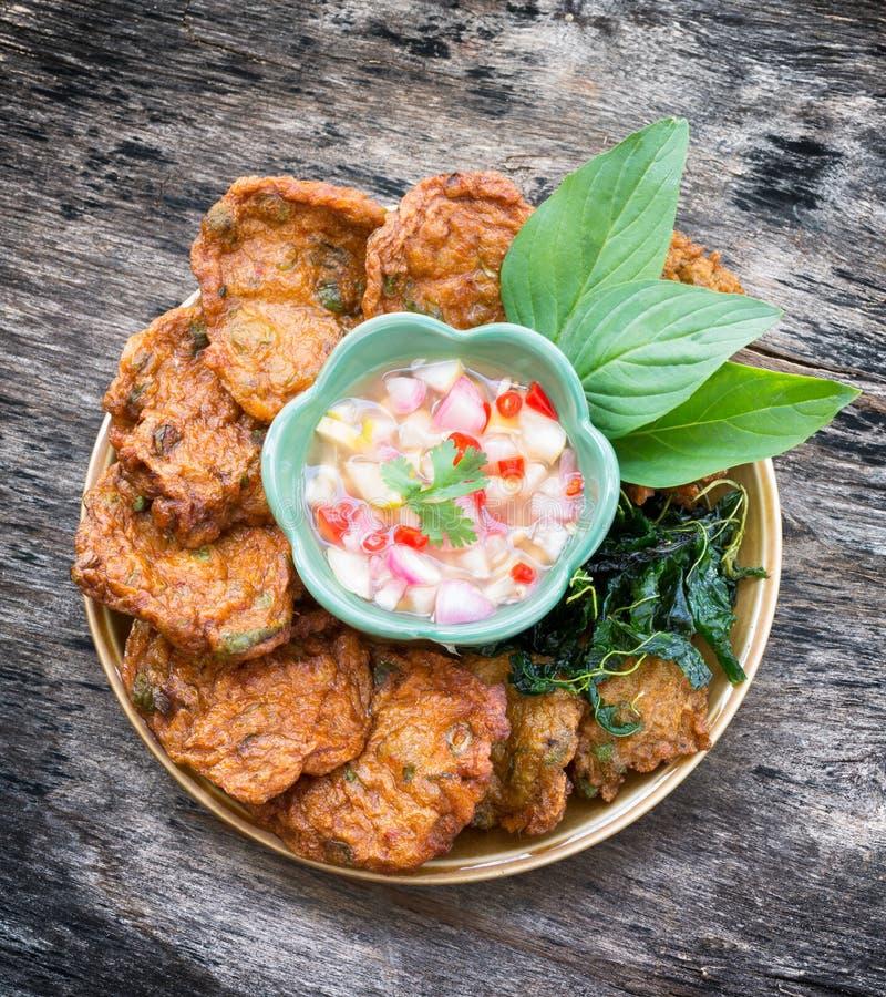 Crocchette di pesci tailandesi fotografie stock libere da diritti