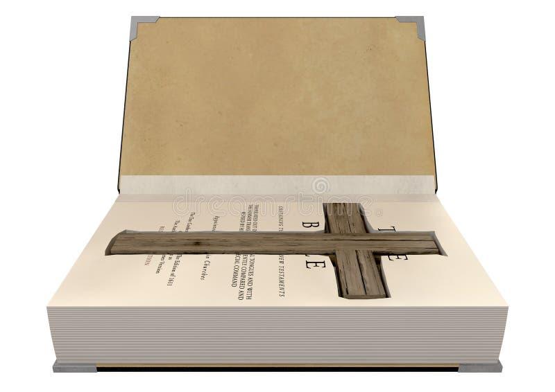 Croce celata in una bibbia