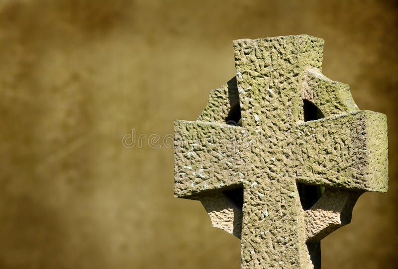 Croce celtica fotografia stock libera da diritti