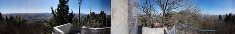 Croce Di Rontana panorama& x27; s obrazy stock