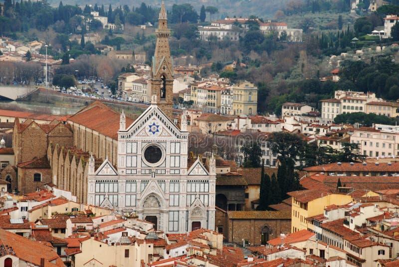 Download Croce Florence Santa D'église Image stock - Image du landmark, haut: 8664487
