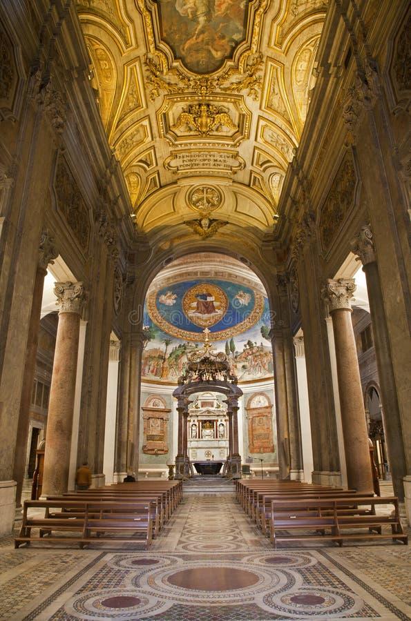 croce kościelny gerusalemme Rome Santa obraz royalty free