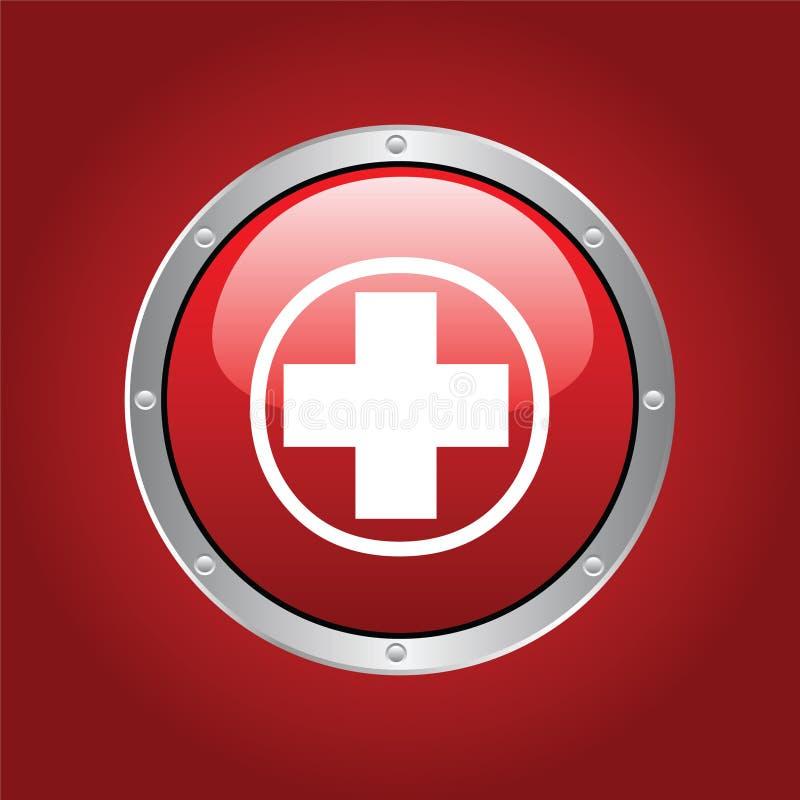Croce rossa illustrazione vettoriale