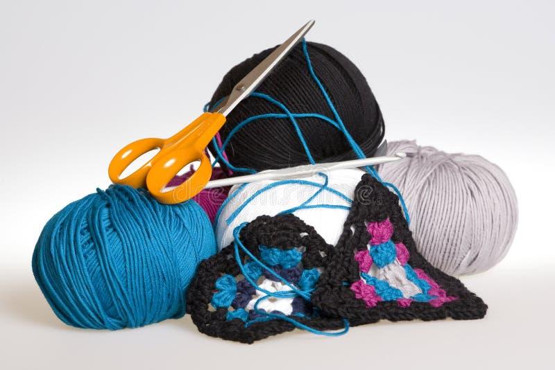 Crochet 2 imagens de stock