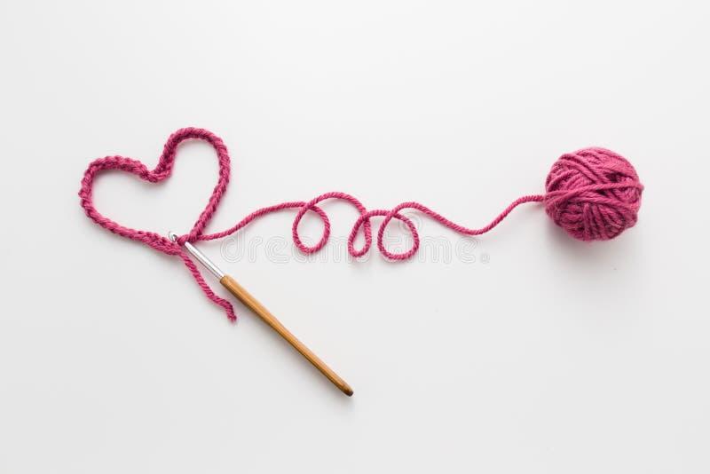 crochet royalty-vrije stock fotografie