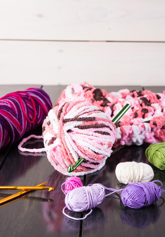 crochet photographie stock