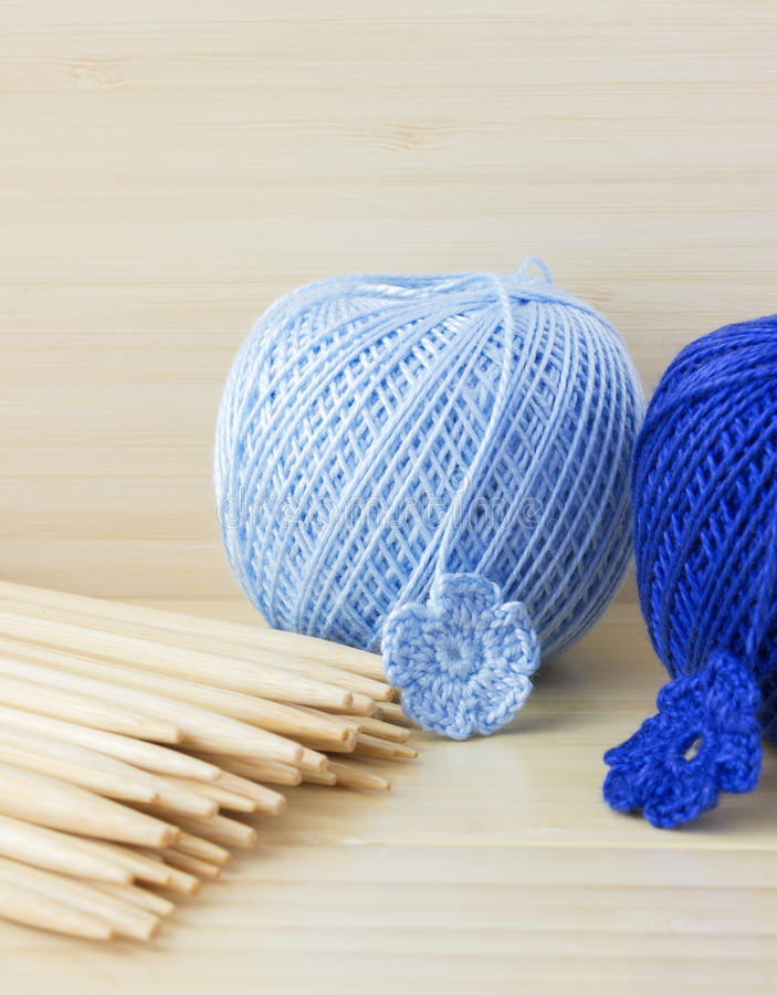 Crochet background royalty free stock image