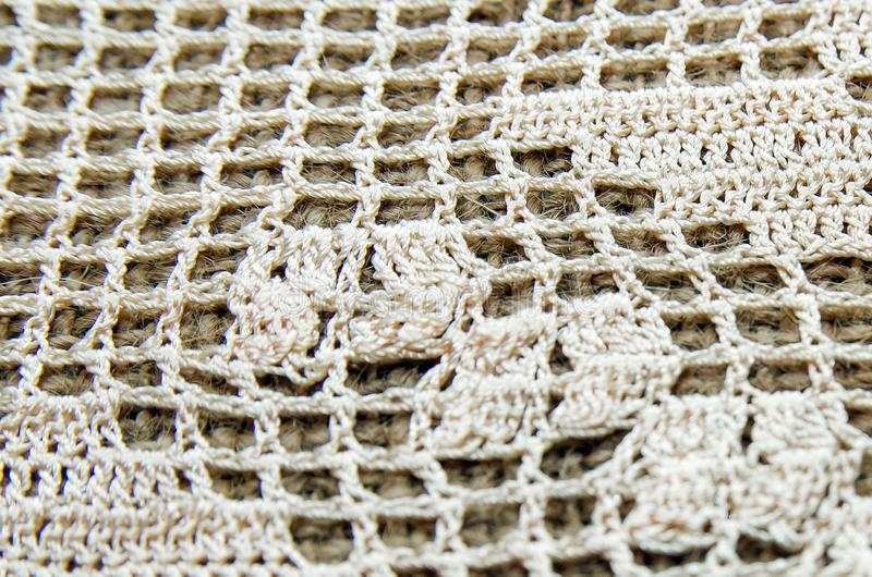 Crochet background. Trendy abstract background. stock photos