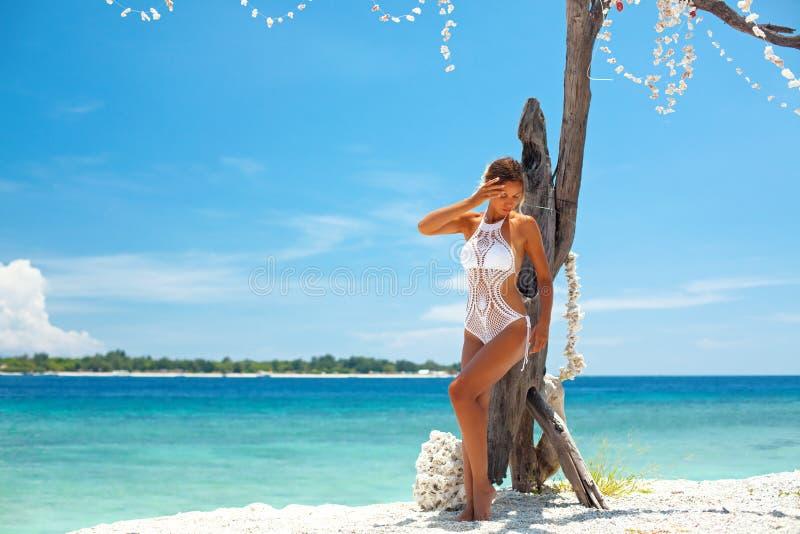 Crochet bikini royalty free stock photography