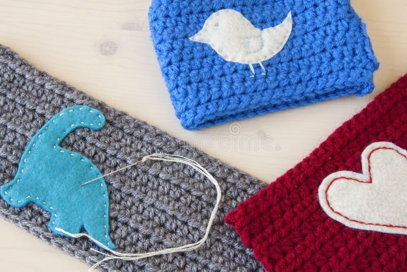 Crochet Crafts royalty free stock photos