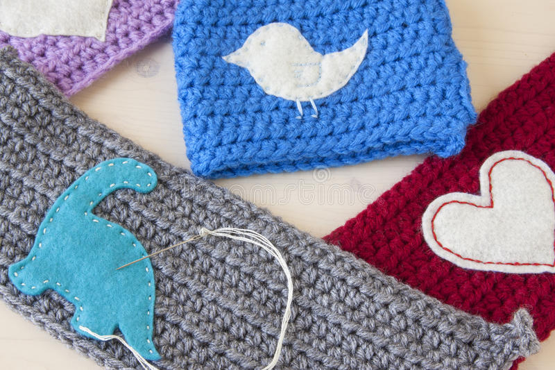 Crochet Crafts royalty free stock photography