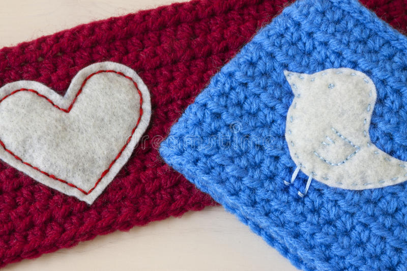 Crochet Crafts royalty free stock images