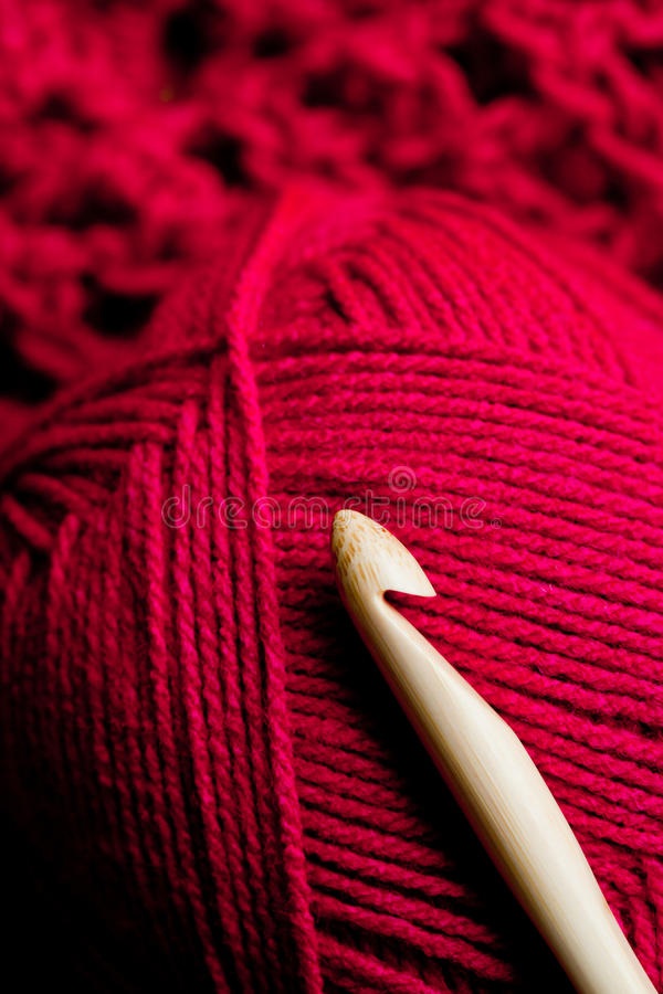 Crochet craftwork royalty free stock image