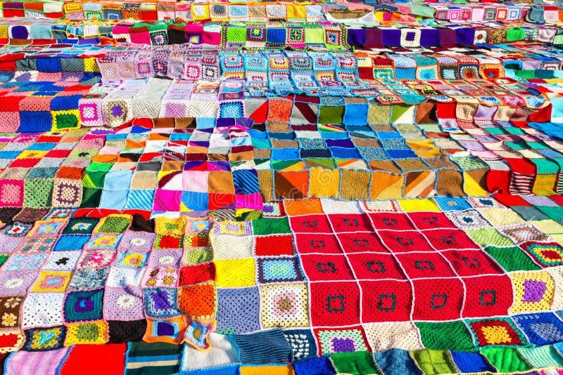 Crochet de Colorfull images stock