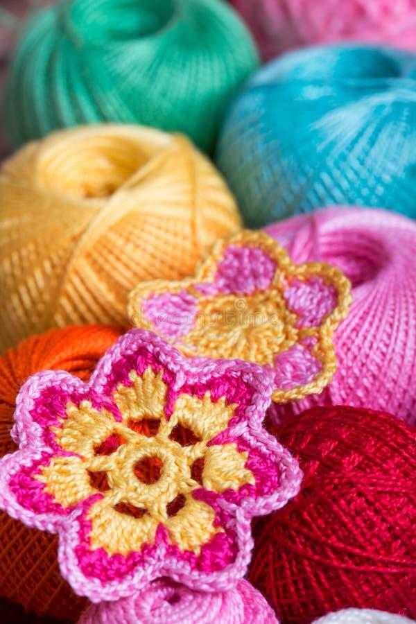 Crochet, foyer mou image libre de droits
