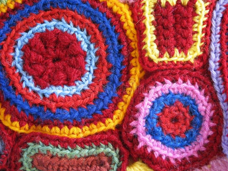 Crochet Géométrique Images stock