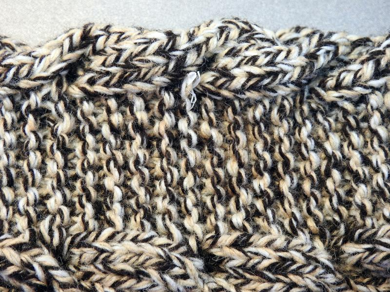 Crochet headband piece, can use as background royalty free stock photo