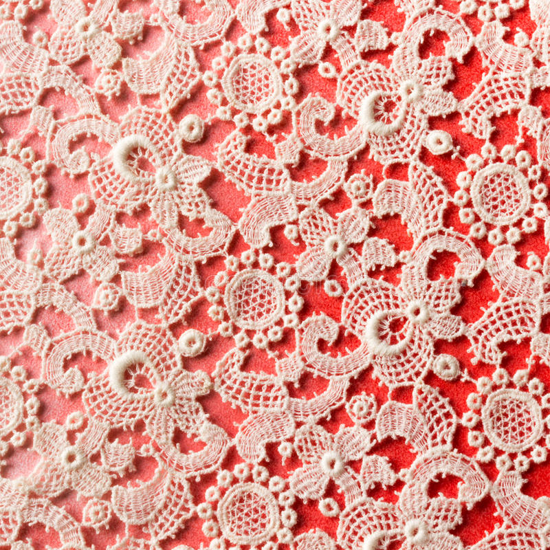 Crochet lace background royalty free stock photos
