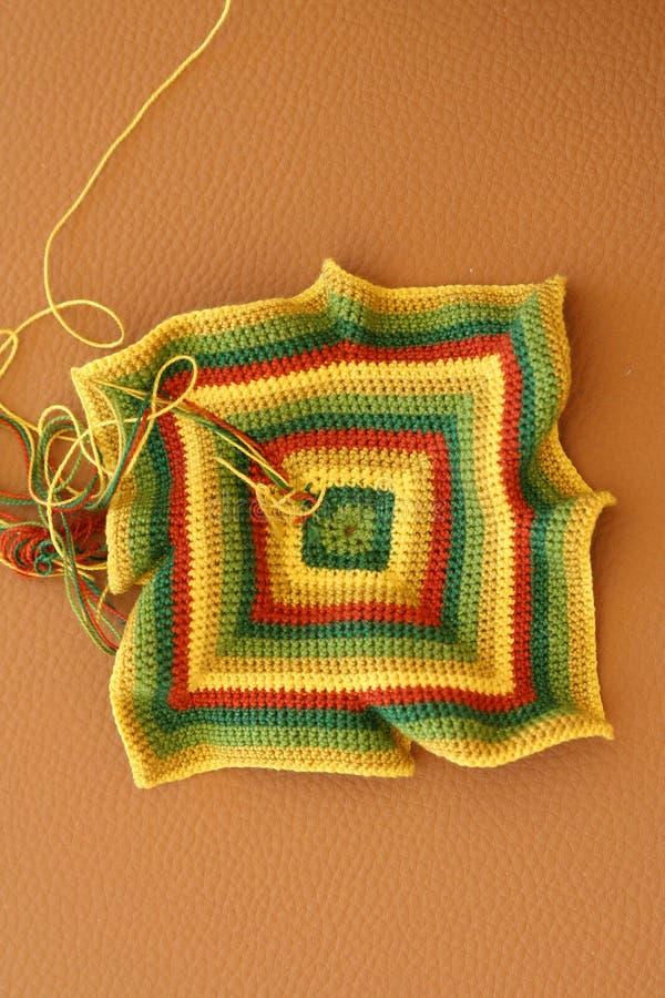 Crochet pattern royalty free stock photography