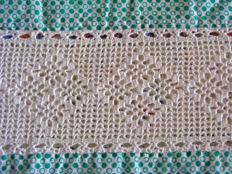 Crochet Pattern Homemade Lace Nice Wedding Or Other Background