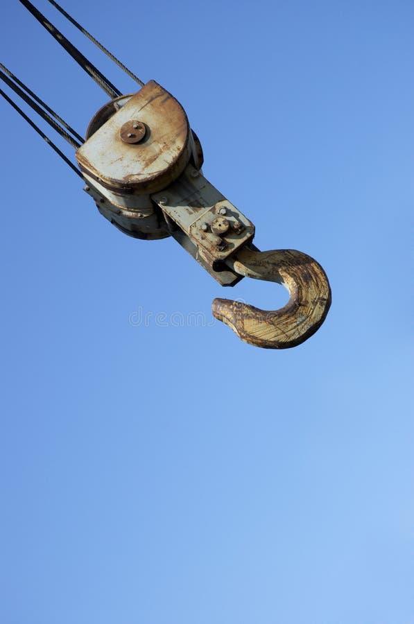 Crochet sur le fond de ciel photo libre de droits
