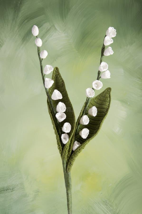 Free Crocheted Flowers-thrush Royalty Free Stock Image - 25679106