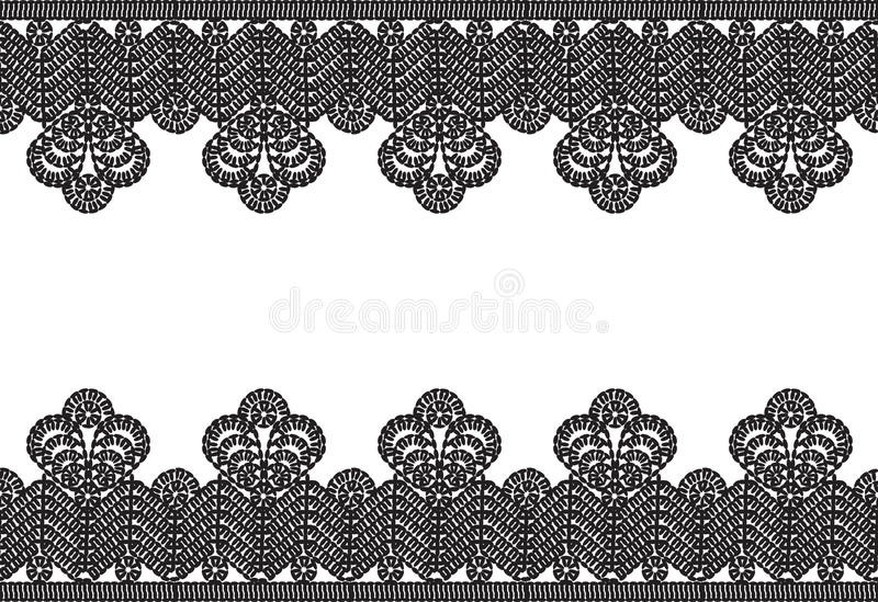 Download Crocheted lace frame stock image. Image of decorative - 26546899