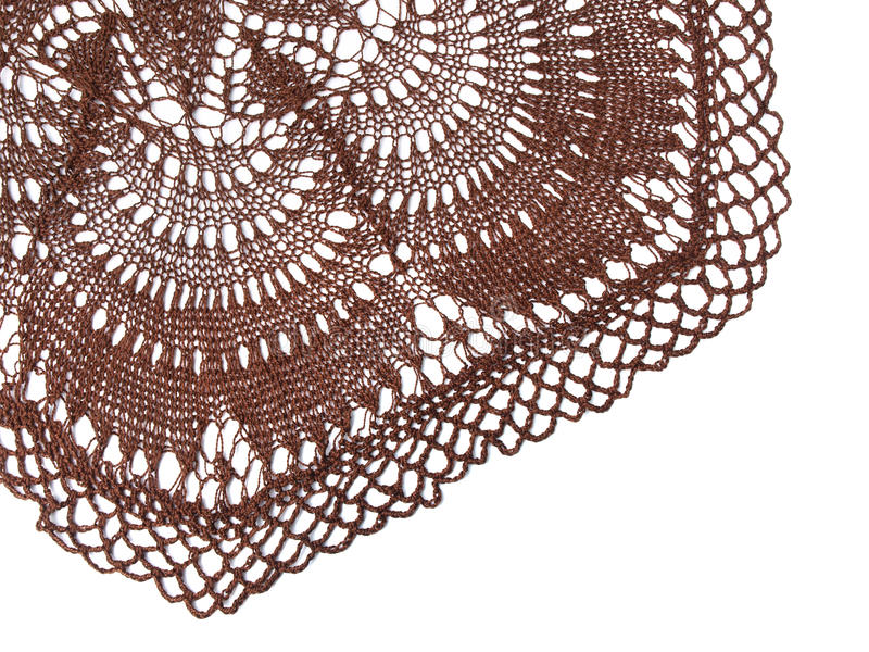 Download Crocheted Tablecloth Stock Photography - Image: 13290322