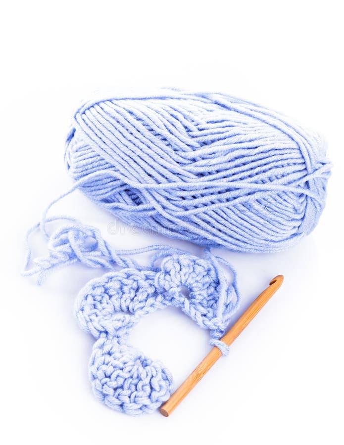 Crocheting fotos de stock royalty free
