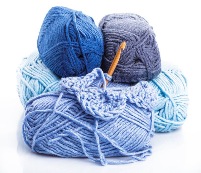 Crocheting fotografia de stock royalty free