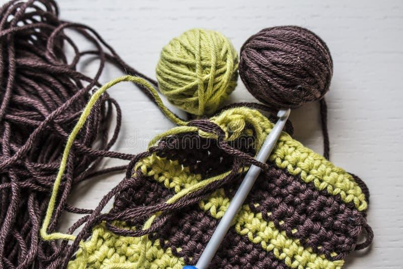 crocheting imagens de stock