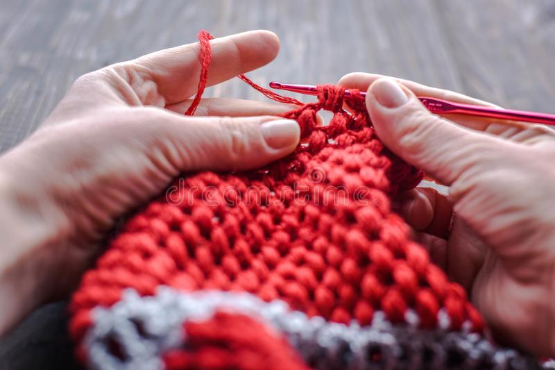 crocheting foto de stock royalty free