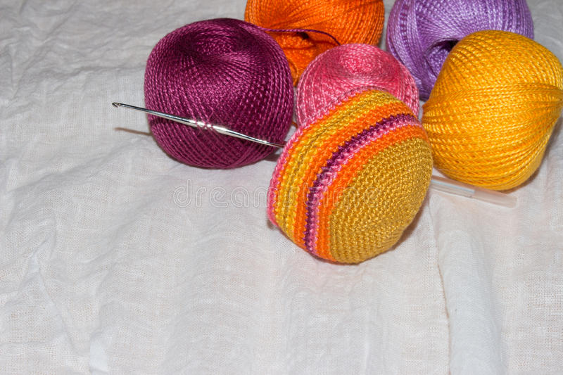 crocheting fotografia de stock