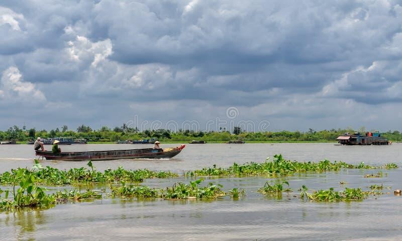 Crociera del Mekong immagini stock