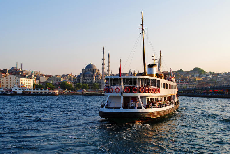 Crociera di Bosphorus fotografia stock libera da diritti