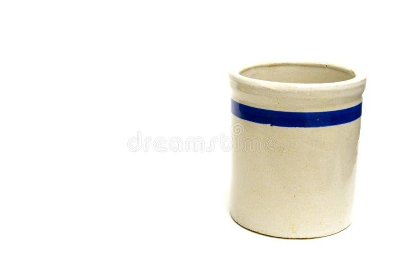 Crock de conservação em vinagre imagens de stock