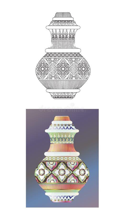 crockery ilustração do vetor
