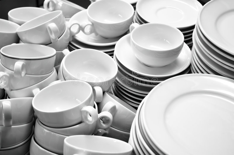 Download Crockery stock photo. Image of ceramics, washed, much - 7196672