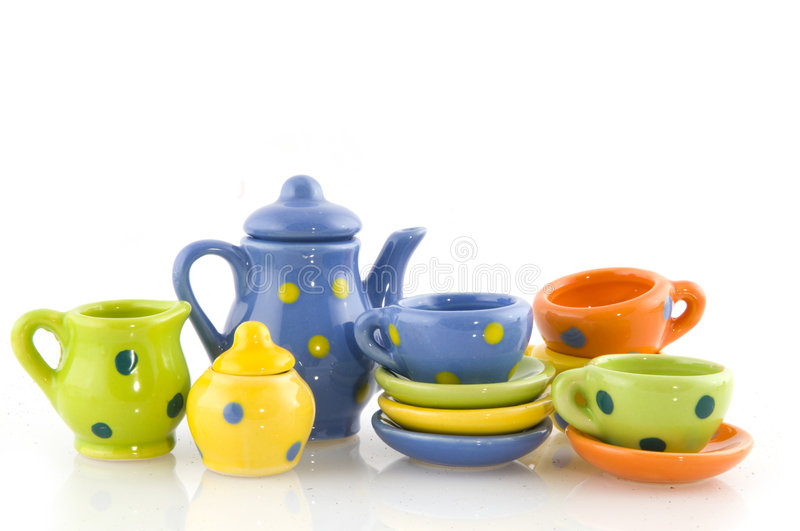 Download Crockery for coffee or tea stock image. Image of white - 6514913