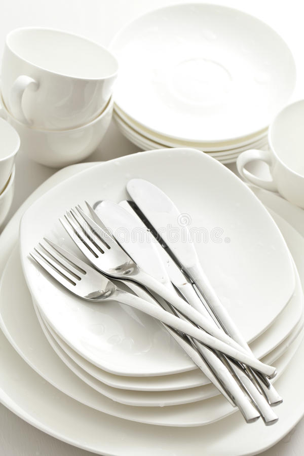 Download Crockery, kitchen stock image. Image of party, fork, crockery - 33368465