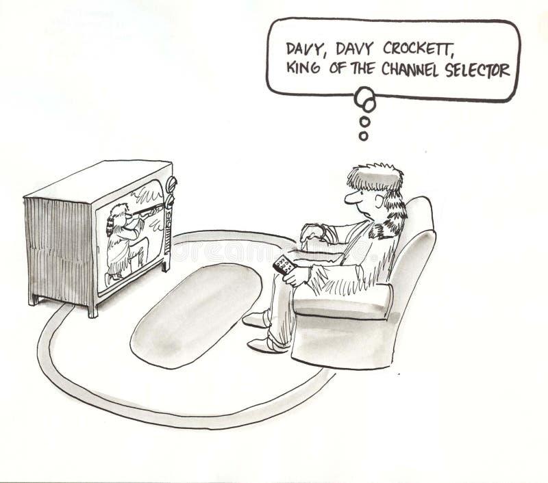 Download Crockett is king stock illustration. Image of tension - 23630976