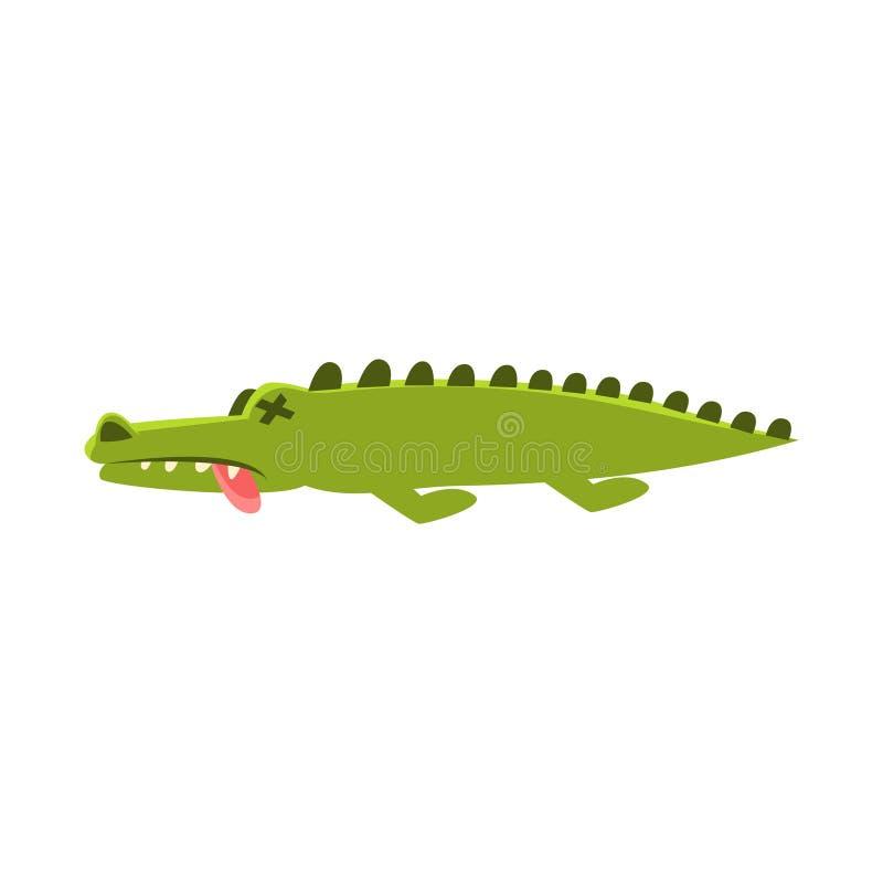 Crocodile tendant les morts et malade le personnage de dessin anim et son illustration - Dessin anime les crocodiles ...