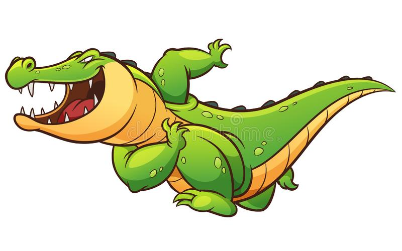 crocodile illustration libre de droits