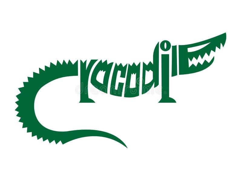 Download Crocodile Alphabet Logo Stock Vector Illustration Of Symbol