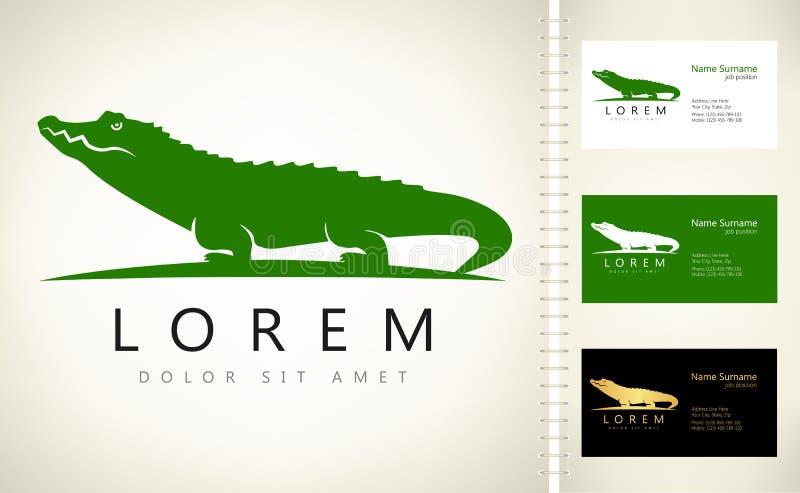 Crocodile logo vector royalty free illustration