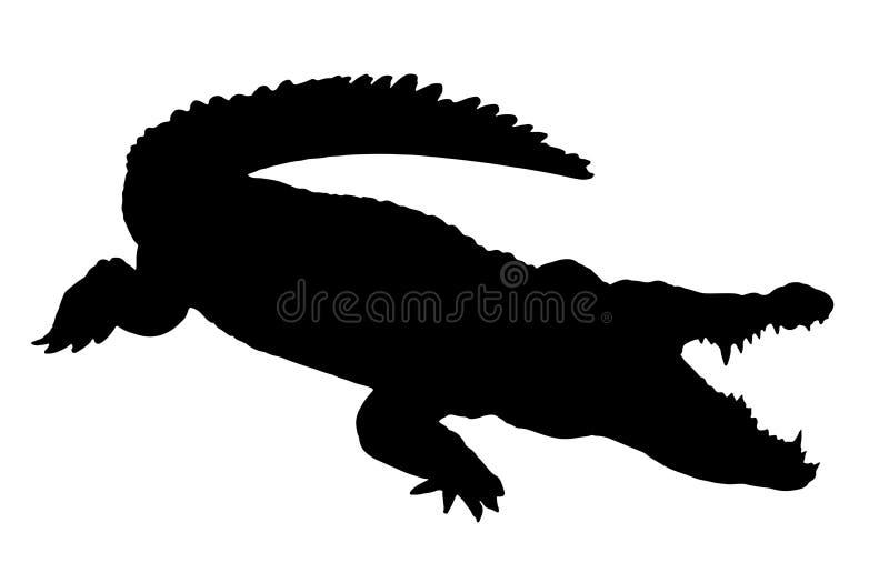 Crocodile Silhouette Stock Illustrations 2 785 Crocodile Silhouette Stock Illustrations Vectors Clipart Dreamstime