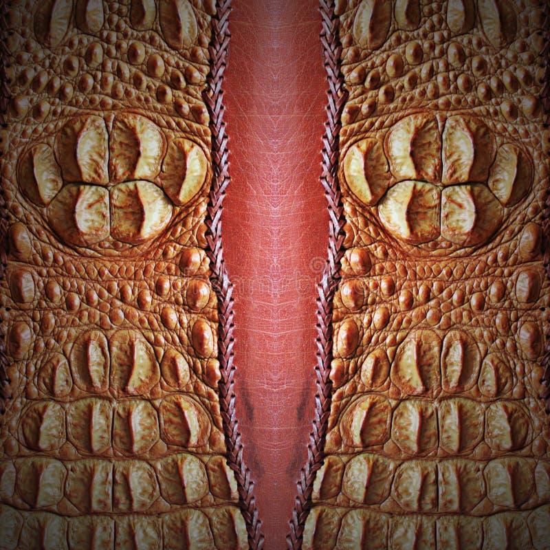 Download Crocodile skin stock image. Image of artificial, black - 41978877