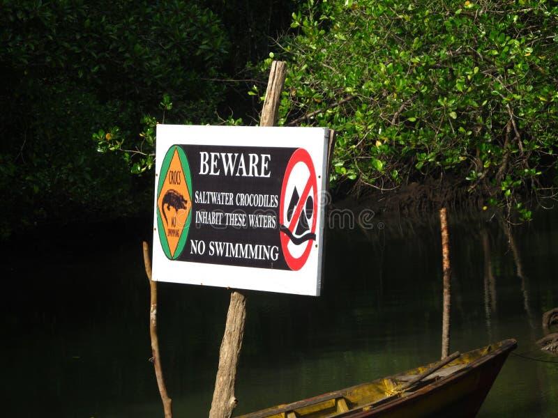 Crocodiles are there!!