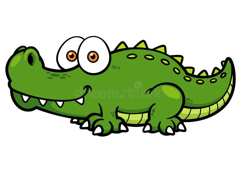 crocodilo ilustração do vetor