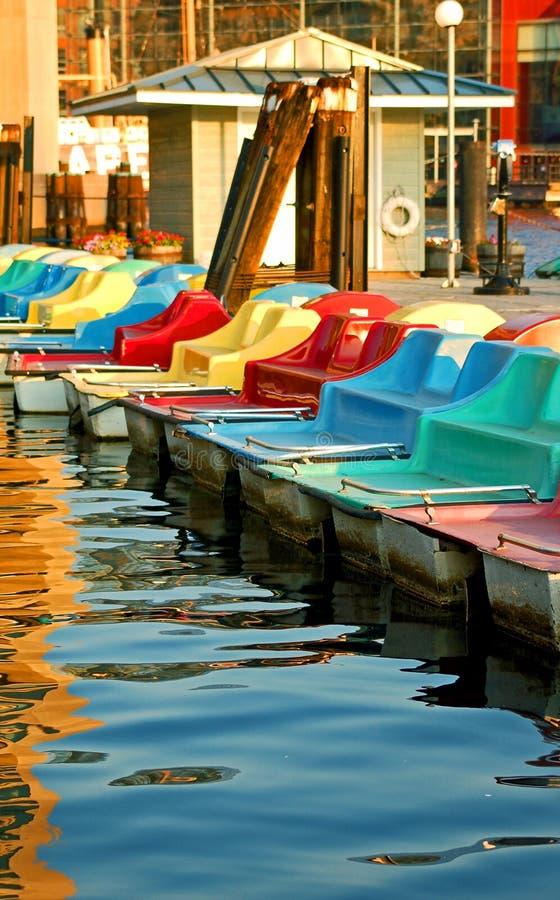 Download Crogioli di pala immagine stock. Immagine di galleggiante - 3877825